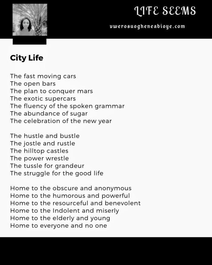 Poem: City Life