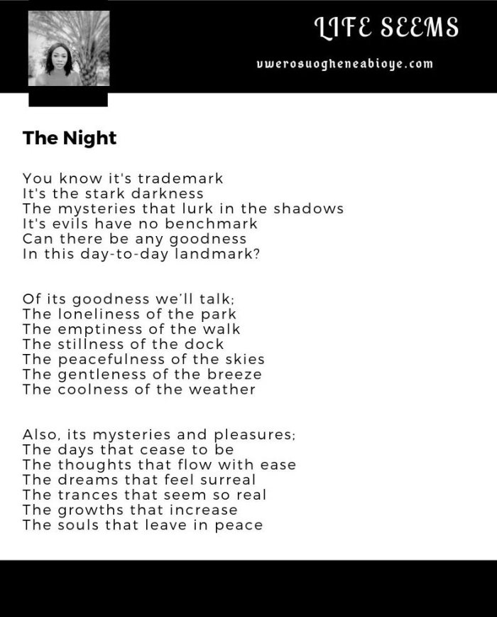 Poem: The Night