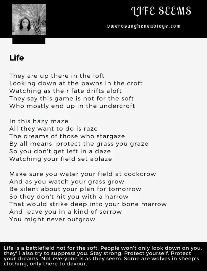 Poem: Life 009
